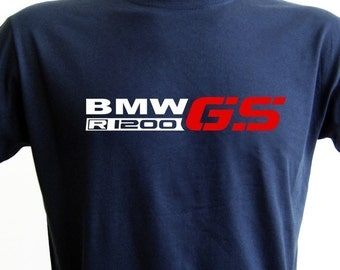 BMW R1200 GS T-shirt /// 5 Colors /// All Sizes