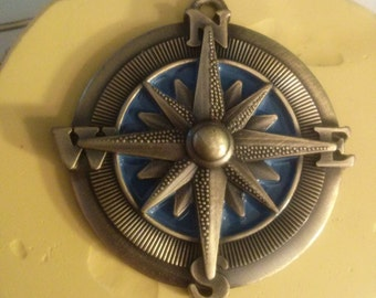 Vintage Compass Flexible Silicone Mold~