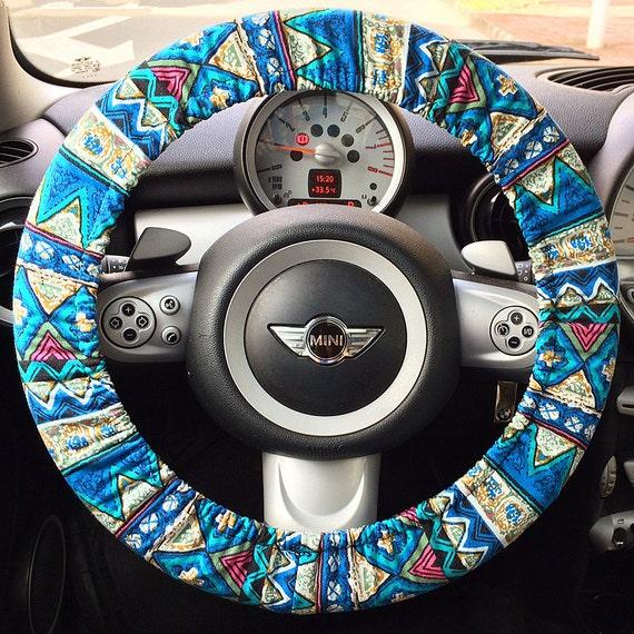 Blue Steering Wheel Steering Wheel Cover Blue