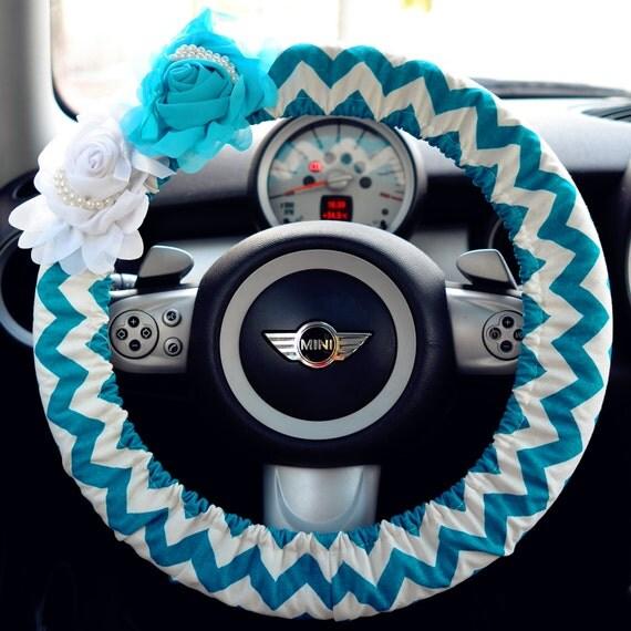 Blue Steering Wheel Car Steering Wheel Cover-blue