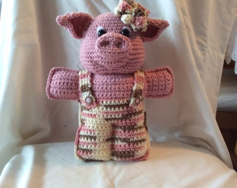 Crochet Toy Pattern tutorial , little Penelopig , amigurumi pig pattern , crochet pig pattern , instant download pdf pattern