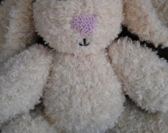 Paul the Knit Bunny, soft bunny, Children's Toy, Handmade, Stuffed Animal, Easter, cute bunny, plush bunny, bunny softie, bunny plushie