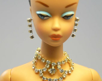 Handmade Fashion doll jewelry set  for Barbie, Reproduction Barbie, Silkstone Barbie and Fashion Royalty NE100020