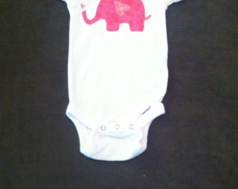 Pink elephant outfit