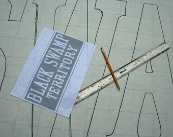 Custom Sign Painting Template for the DIY sign painter