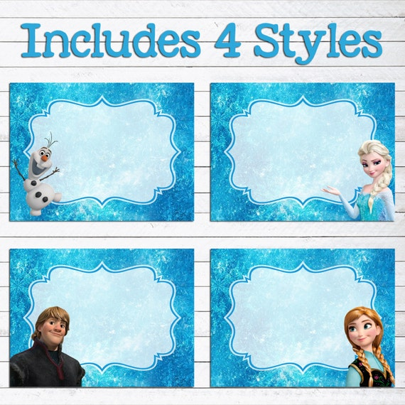 Resource image with regard to frozen printable labels