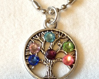 Tree of Life Necklace / Family  Tree Necklace