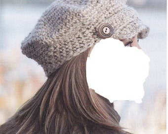 BRIMMED CAP