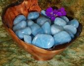 1 AQUAMARINE (AFRICA), Healing Stones - Aquamarine Tumbled Stone, Aquamarine Healing, Aquamarine Gemstone, Tumbled Aquamarine