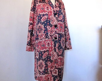 Sale 20% Off // Vintage Flapper Style Duster Overcoat // Coupon Code SALE20