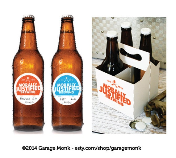 Personalized homebrew beer labels writable by custombeerlabels for Custom beer labels and caps
