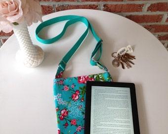 iPad/ E-Reader Crossbody Bag- Gracie Pattern