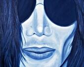 Michael Jackson in Shades Giclee Print 10x10