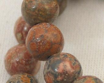 LEOPARDSKIN JASPER BEADS, gemstones, 8 mm semi precious gems beading supplies, affordably priced, destash beads