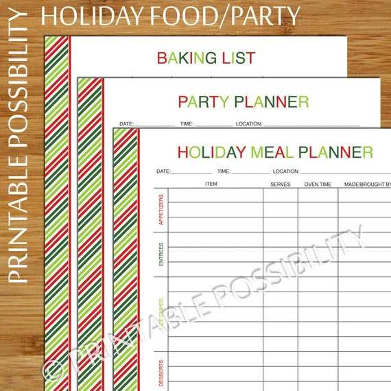 how to set up a meal planner