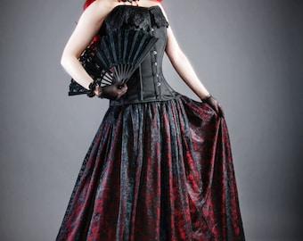 Lace Gothic Steampunk Victorian Skirt  Many Colors S M L XL XXL