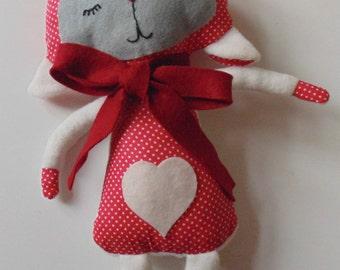 handmade stuffed little lamb