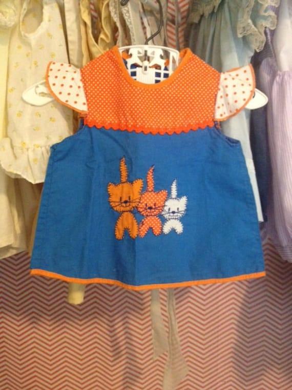 Vintage Flutter sleeve baby shirt