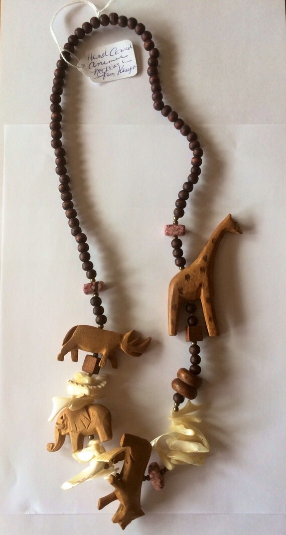 Hand Carved Wood Animal Necklace By Lulusvintagejewelry On. Toddler Gold Chains. Sapphire Pendant. Tricolor Bangles. Bridal Sets. Yellow Gold Diamond Band. Etched Bracelet. Antique Diamond Necklace. Honeycomb Necklace