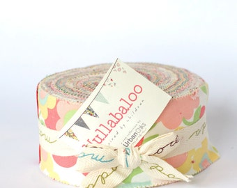 SALE Hullabaloo by Urban Chicks for Moda Jelly Roll OOP HTF
