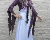 Faery Hibiscus Shrug ~ Romantic ~ Gypsy ~ Fairytale ~ Bridal ~ Sizes 6 to 30 ~ Last Chance to Buy