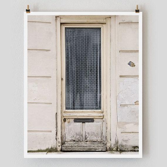 """Paris Photography, """"Blue Curtain"""" Paris Print, Large Art Print Fine Art Photography, Affordable Wall Art, Kitchen Art"""