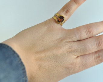 Vintage ring Sarah Coventry brand signed Costume jewelry