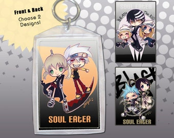 Soul Eater Keychain Double-Sided