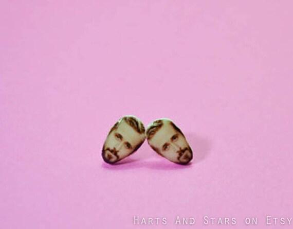 Ryan Gosling earrings Face Post Stud Jewelry