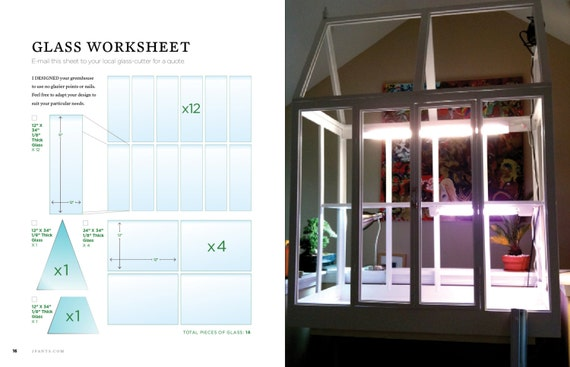 Diy build your own indoor greenhouse 132 page guide by for How to make a small indoor greenhouse