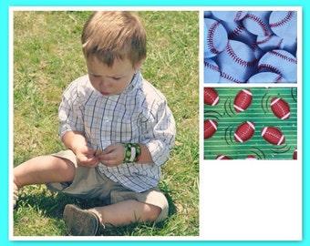 Medical Alert Bracelet for Kids Toddler ID Bracelet Fabric Wristband Sports Band Kids Allergy Alert