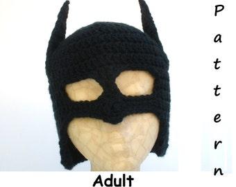 Adult Pattern-Bat Hat -PDF file