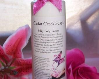 LOTION ~ Sweet Juicy Pear Hand Body Lotion Silk Shea Butter Lotion 8 oz bottle