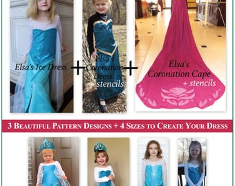 plus size elsa dress pattern