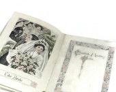 Antique Bride Book Elizabeth Harding Bride To Be Book, Ivory Soap Advertising Ad & Household Remedies, Vintage Edwardian Wedding Bride Book