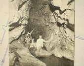 Les Grottes de Betharram - Early 1900s - Antique French Postcard