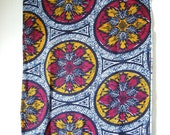 Fall Motif Wax Print Ankara Cloth 1 yard