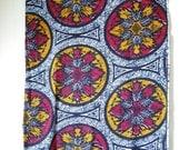 Fall Motif Wax Print Ankara Cloth 1 yard
