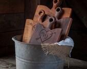 Personalized Breadboard, Custom Cutting Board, Walnut Carved Board, Serving Board, Custom Wedding Shower Gift