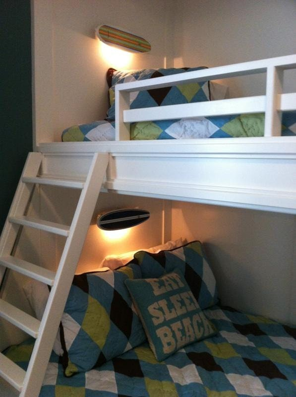 Wall Lights By Bed : Surfboard Wall Lights Night Lights Bunk Bed Lights Coastal