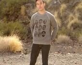 seattle SUPERSONICS legends sweatshirt KEMP payton 90s