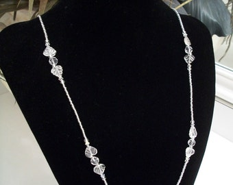 Sparkly Beaded Crystal Necklace
