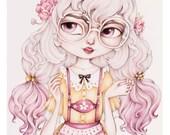 Little Lottie Ledherhosen Limited Edition Fine Art Print