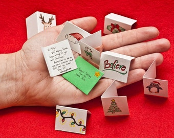 Christmas Card from Santa's Elf: tiny and customizable