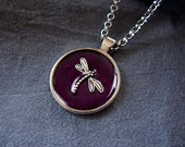 Dragonfly Necklace - Anim...