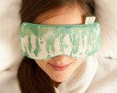 Turquoise EYE pillow for hot and cold eye relief