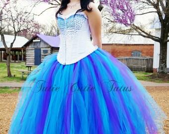 Formal Prom Tutu Dress Corset Top