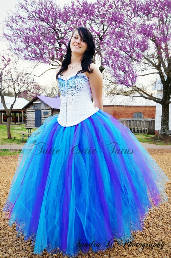 Items similar to Formal Prom Tutu Dress Corset Top on Etsy - photo #5