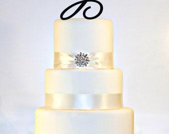 """6"""" Monogram Cake Topper"""