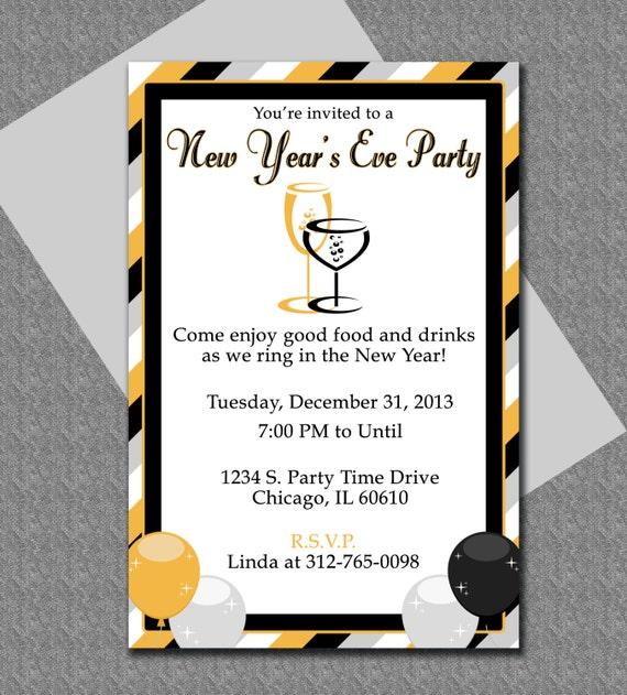 New years eve invitation templates new years eve party invitation editable template microsoft word maxwellsz